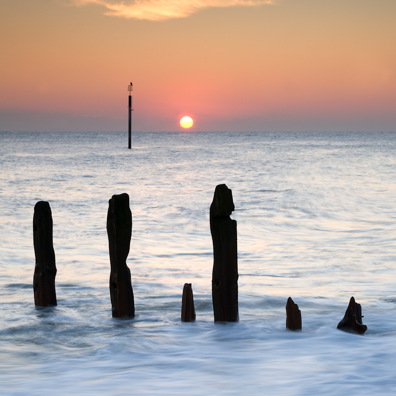 Watching The Sun Go Down - Seascape