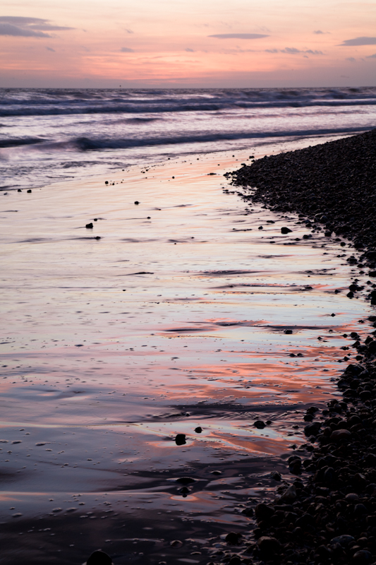 Foreshore Glow - Seascape