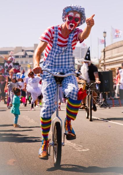 Clowning Around - Brighton Rocks