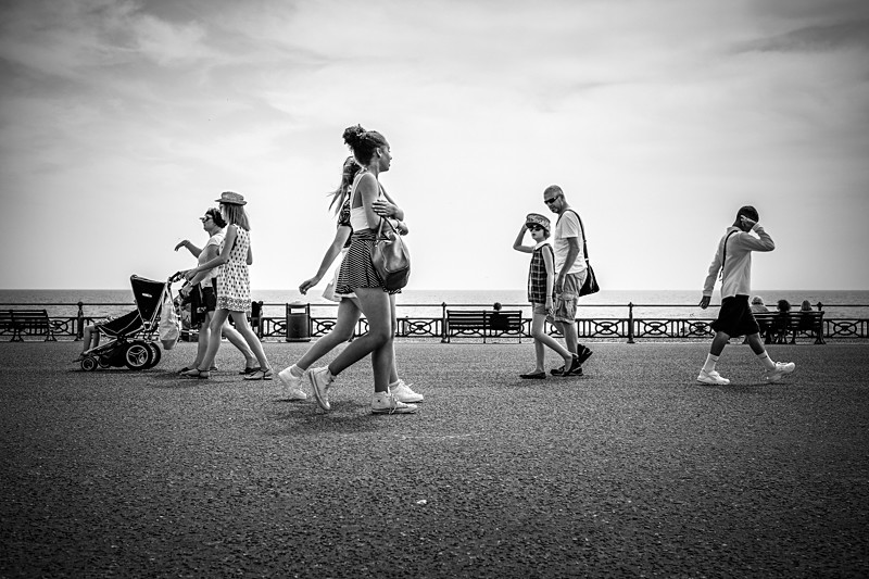 On the Promenade - Street