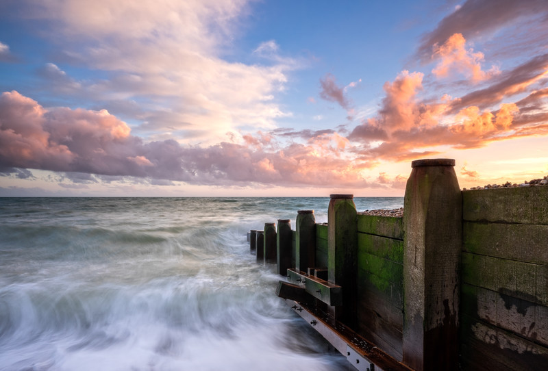 The Sunset - Seascape