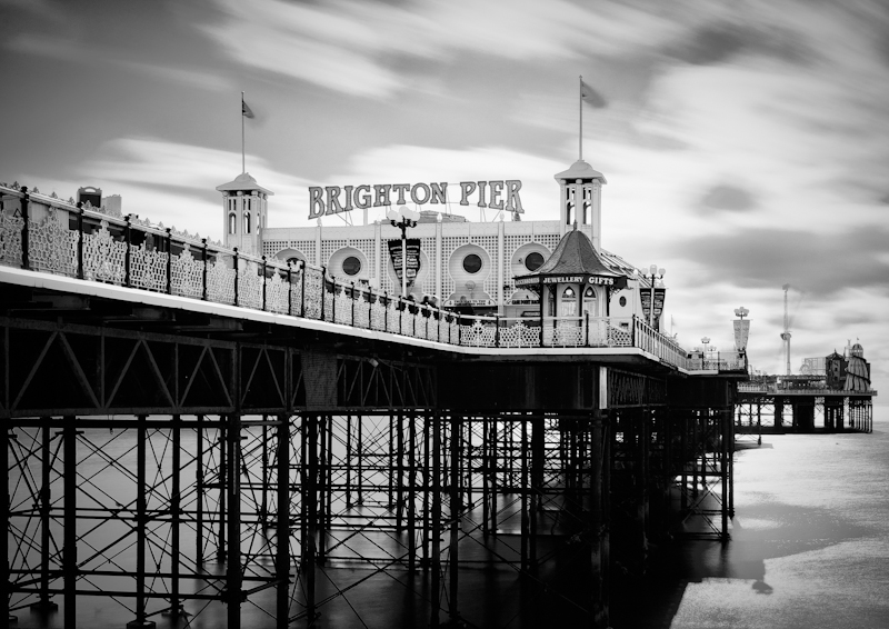 Brighton Pier - Time Slips By