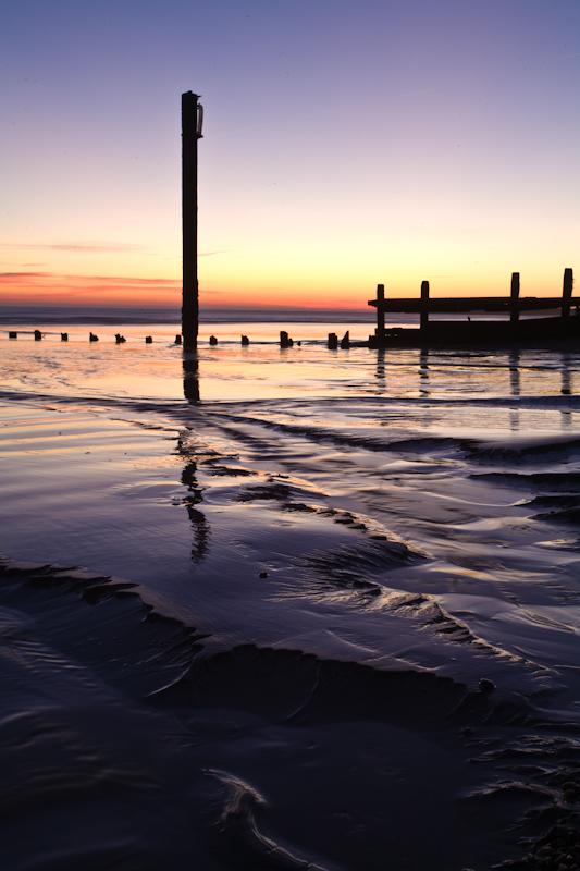 When The Sun Goes Down - Seascape