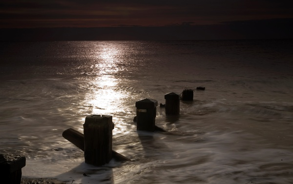 Spurn point - almost dawn - Andy Cotton