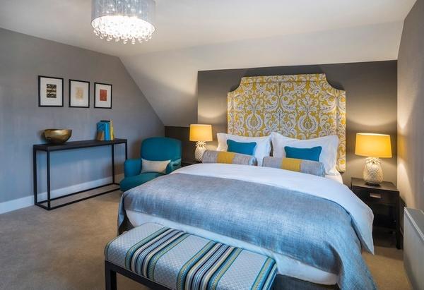 Offham Road bedroom 01 - Interiors & Architecture