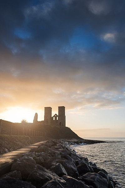 Reculver Towers Kent - Landscapes