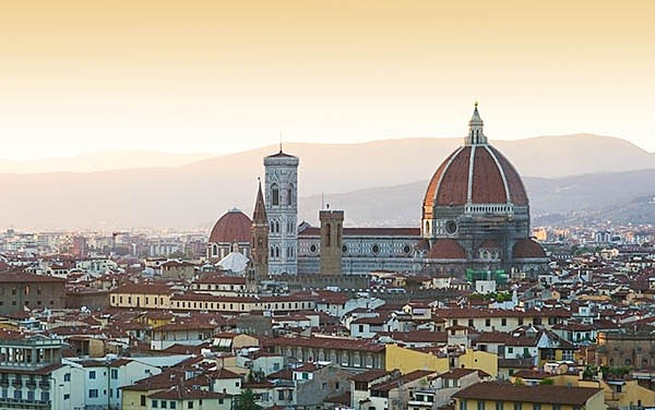 Florence evening view - Landscapes