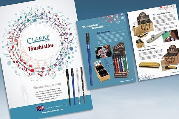 Tinwhistle brochure - Graphic Design