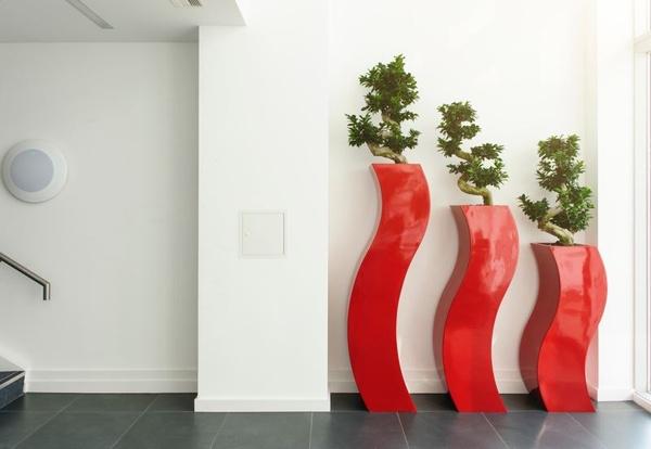 Reception area detail - Interiors & Architecture
