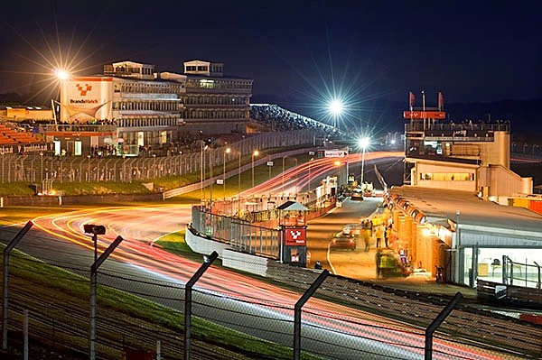 Britcar into the night race - Landscapes