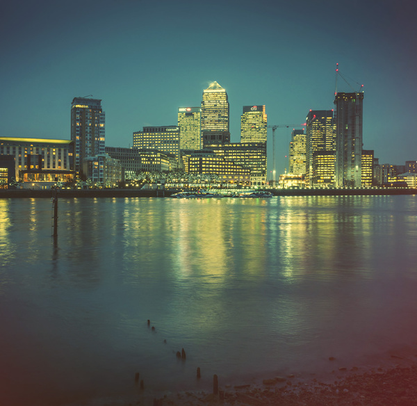 Canary Wharf - Landscapes