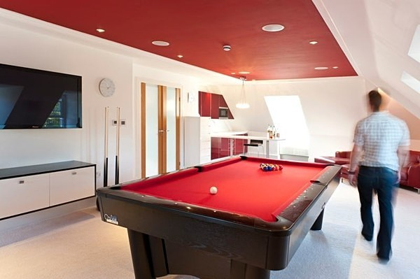 Top floor games room - Interiors & Architecture