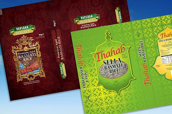 Rice packaging designs - Graphic Design