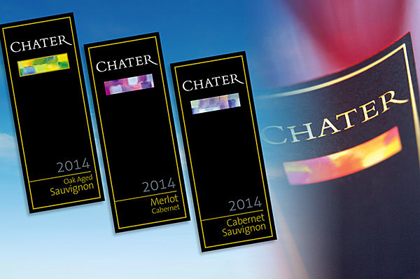 Chater contemporary wine labels - Graphic Design