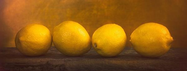 Four Lemons - Still Life
