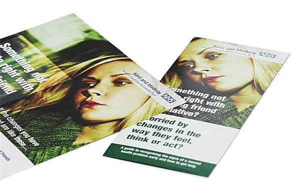 NHS leaflet and poster - Graphic Design