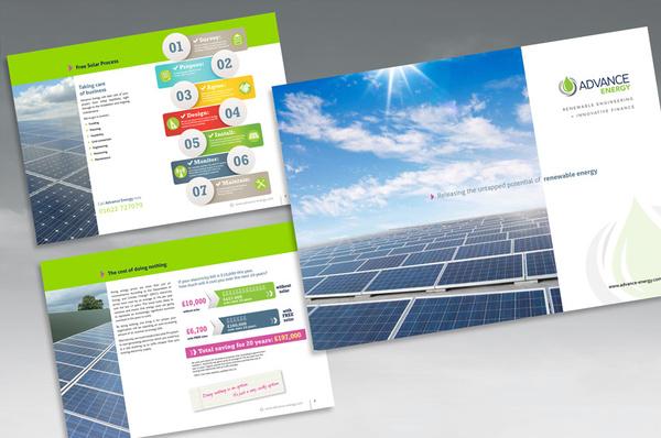 Advance Energy Sales Brochure - Graphic Design