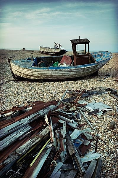 Dungeness wreckage - Landscapes