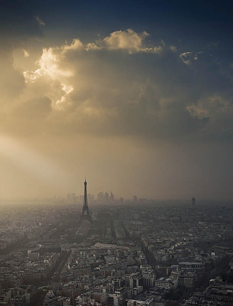 Eiffel Tower skyscape - Landscapes