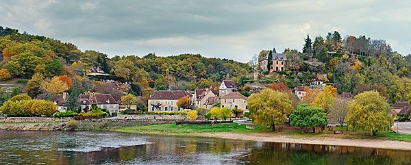 Limeuil in the Autumn - Landscapes