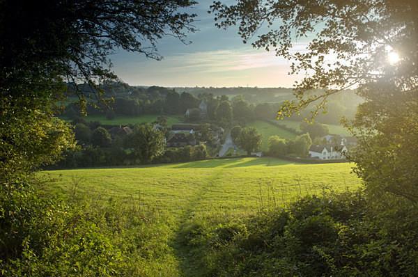 Stansted Village Kent - Landscapes