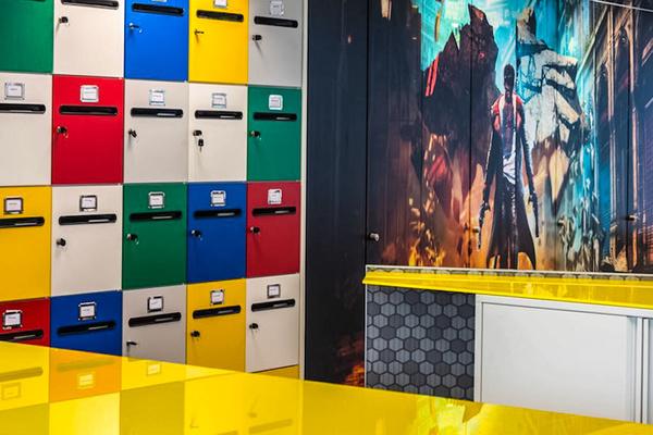 Capcom Office Interior - Interiors & Architecture