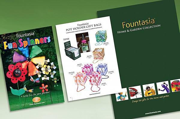 Fountasia catalogue - Graphic Design