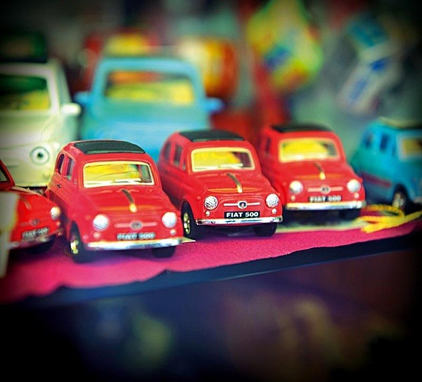 Toy Fiats - Travel