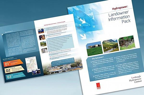 Lonburgh Hydropower brochure - Graphic Design