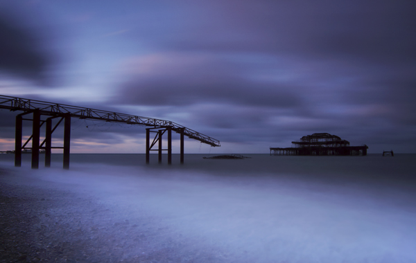 West Pier IV - The South Coast of England