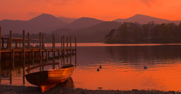 Serene Evening - The Lake District