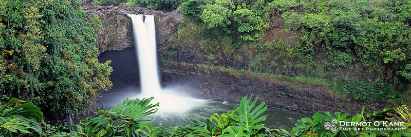Rainbow Falls - Panoramic Horizontal Images