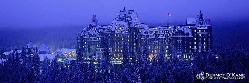 Banff Springs Hotel - Panoramic Horizontal Images