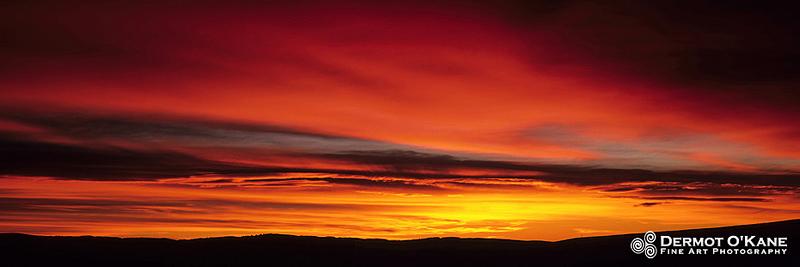 Alberta Sunrise - Panoramic Horizontal Images