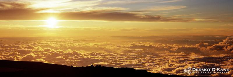 Mauna Kea - Panoramic Horizontal Images