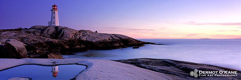 Peggy's Cove - Panoramic Horizontal Images