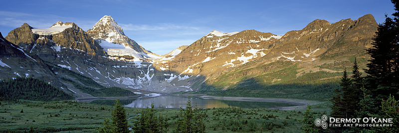 Mount Assiniboine - Panoramic Horizontal Images