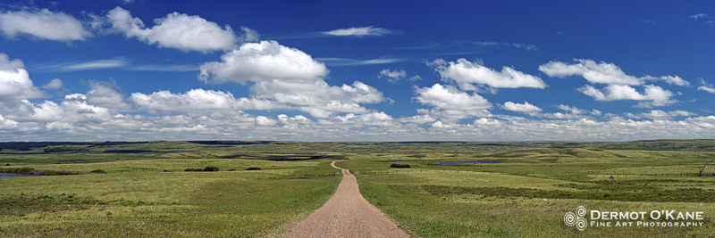 The Road Home - Panoramic Horizontal Images