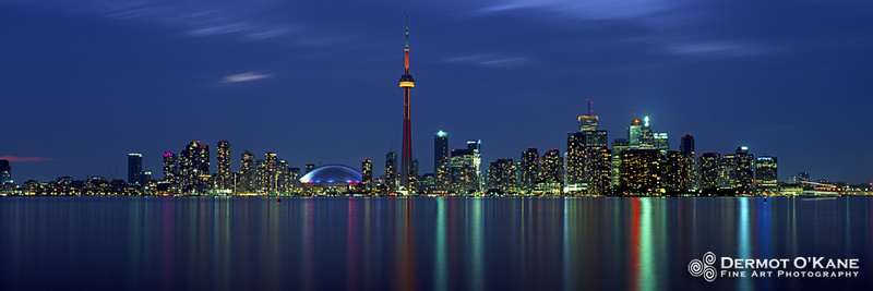 Toronto Blue - Panoramic Horizontal Images