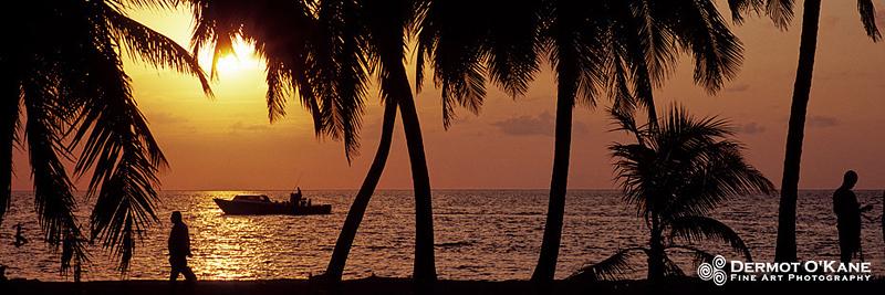 Caribbean Sunrise - Panoramic Horizontal Images