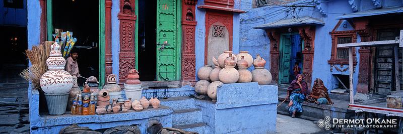 Jodhpur, The Blue City - Panoramic Horizontal Images