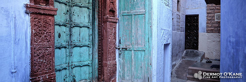 Doors of Jodhpur - Panoramic Horizontal Images