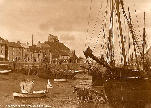 Ilfracombe Harbour 10 - Old Photos of Ilfracombe