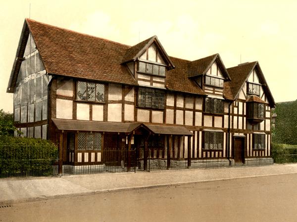 Stratford Shakespeare's birthplace 2 - Old Photos of Stratford on Avon