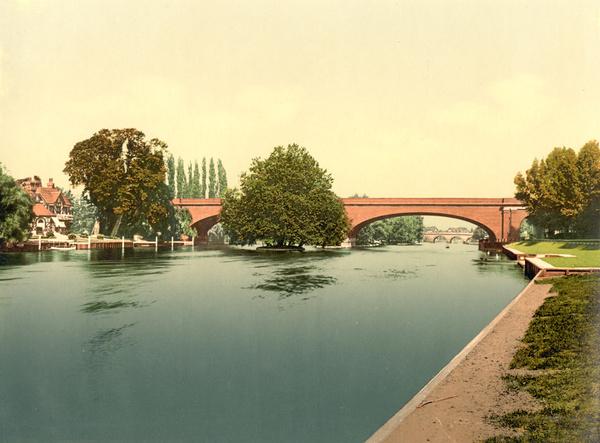 Maidenhead Bridge 2 - Old Photos of Maidenhead