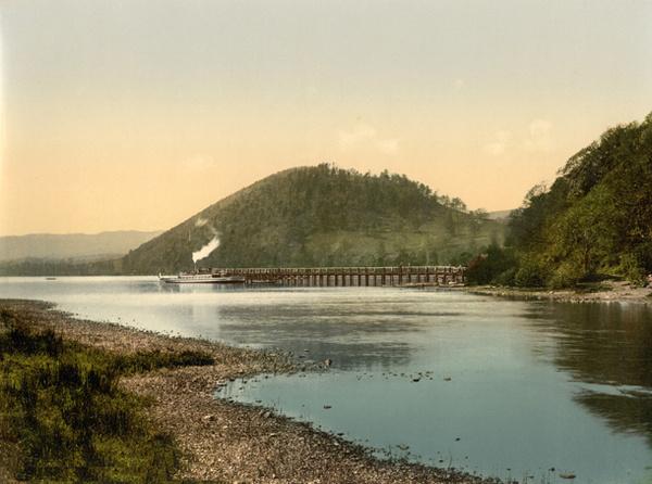 Lake District Ullswater Pooley Bridge Pier 51 - Old Photos of Lake District