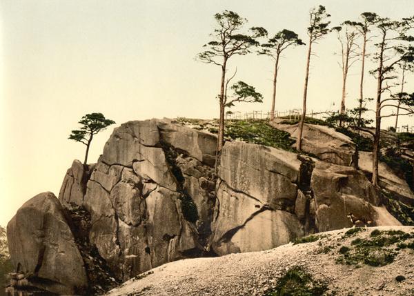 Peak District Cromford Black Rocks 7 - Old Photos of Peak District