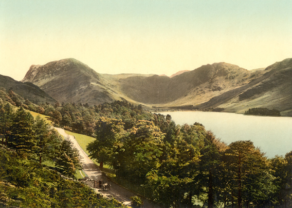 Lake District Buttermere 12 - Old Photos of Lake District