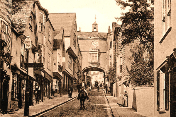 Totnes Fore St 2 - Old Photos of Totnes