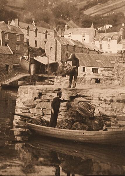 Polperro Harbour 7 - Old Photos of Polperro